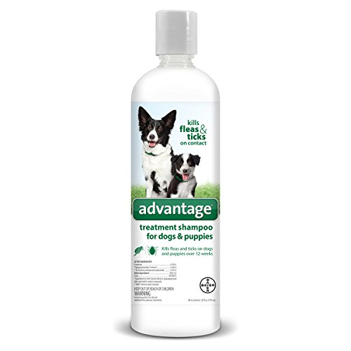 Advantage Shampoo Flea and Tick Treatment for Dogs and Puppies