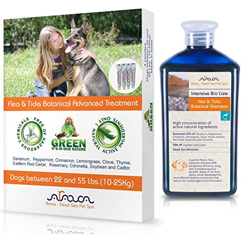 Arava Tick and Flea Treatment for Dog and Puppy Shampoo Image