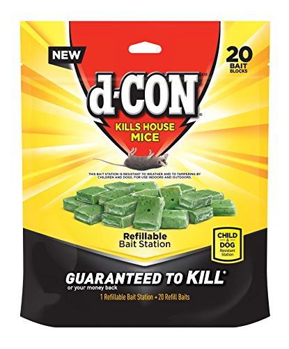 D-Con Ready Mix Bait Bits For Mice Brodifacoum Image