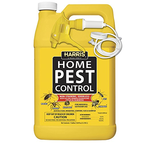 Harris Roach Killer, Liquid Spray with Odorless and Non-Staining 12-Month Extended Residual Kill Formula (Gallon) Image