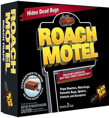 Black Flag Roach Motel Insect Trap Image